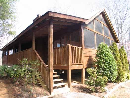 Front Exterior View at Rock Around The Clock - ROCK AROUND THE CLOCK - Sevierville - rentals