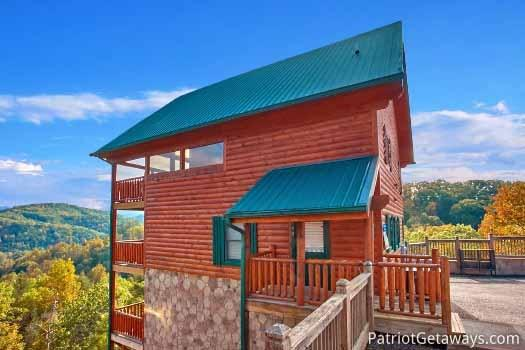 Exterior View at The Big View - THE BIG VIEW - Sevierville - rentals