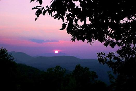 View from Apple View - APPLE VIEW - Pigeon Forge - rentals