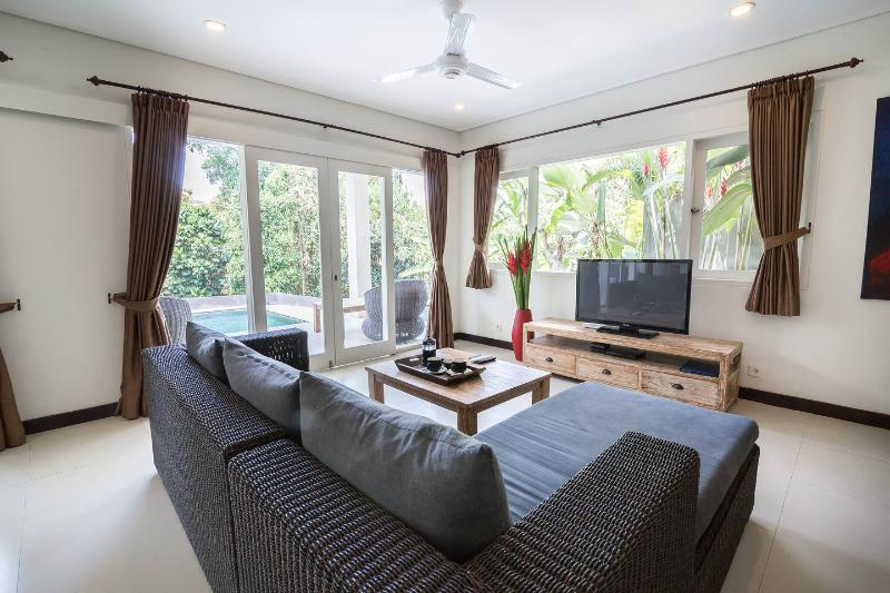 Living Room - Villa Jumah Gangga on Jalan Bisma - Ubud - rentals