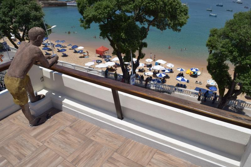 Terrace view of beach - Terrace Apartment - 1 Bedroom - Salvador - rentals