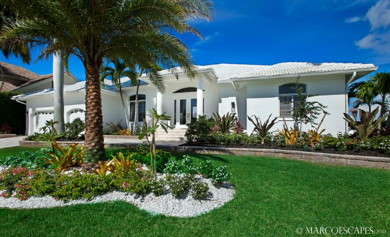 BELLA SOLANA - Modern Island Villa on Smokehouse Bay Marco Island! - Image 1 - Marco Island - rentals