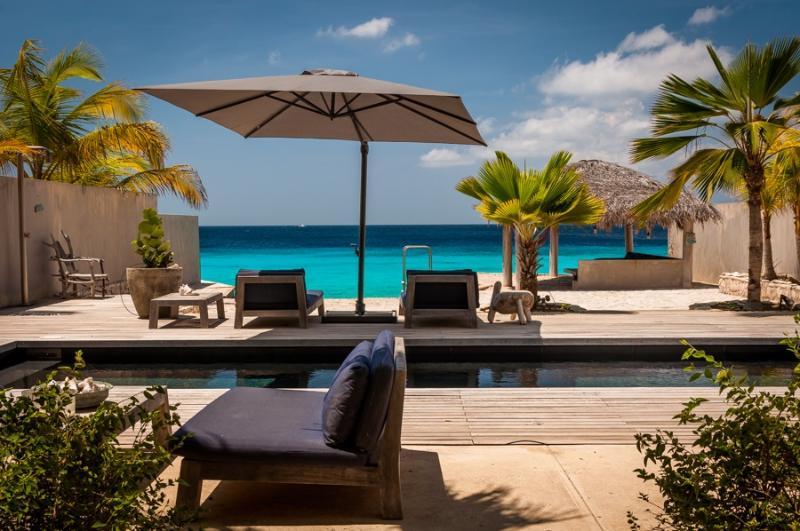 Oceanfront villa Kas Lila - Image 1 - Kralendijk - rentals