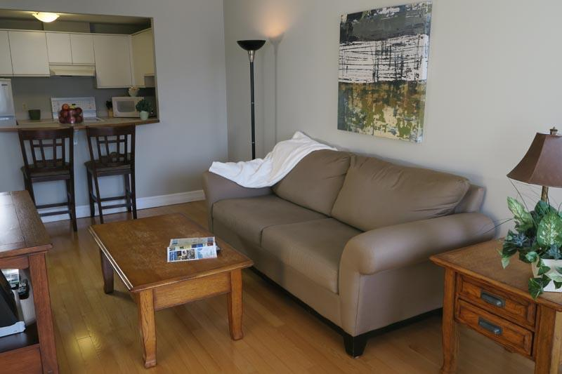 Living Room - Courtyard Views in Downtown - Halifax - rentals