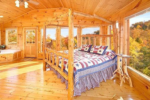 Master Bedroom at American Dream - AMERICAN DREAM - Gatlinburg - rentals