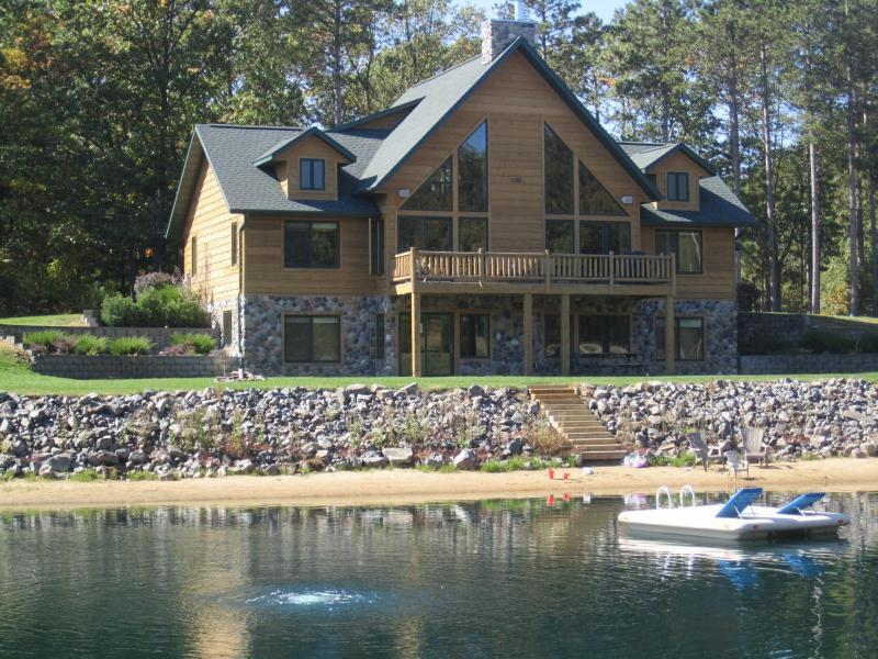 Spacious Retreat with Private Swimming/Fishing Pond and Sand Volleyball Court - Image 1 - Wisconsin Dells - rentals