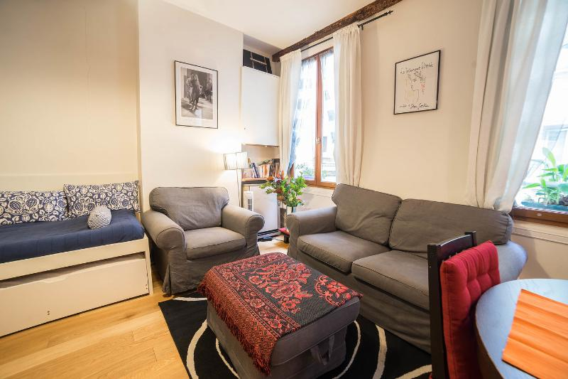 Living Room - Charming Apartment In  St Germain Des Pres - Paris - rentals