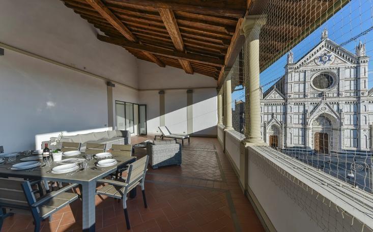 Loggia Santa Croce - Image 1 - Florence - rentals