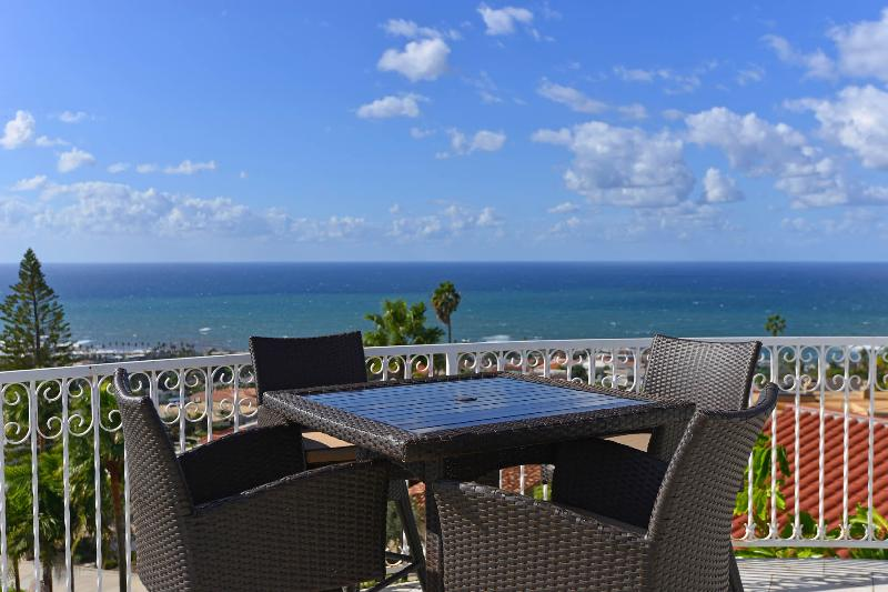 ocean views to mexico from this spacious terrace - Panoramic Ocean View Estate - La Jolla - rentals