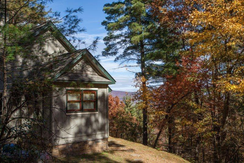 Enjoy the outdoors and the views - Ananda - Romantic Spa Cabin with hydrotherapy tub, sauna and breathtaking - Chatsworth - rentals
