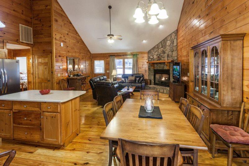 Dancing Bear - Great Cabin, Spacious and Comfy! - Image 1 - Ellijay - rentals