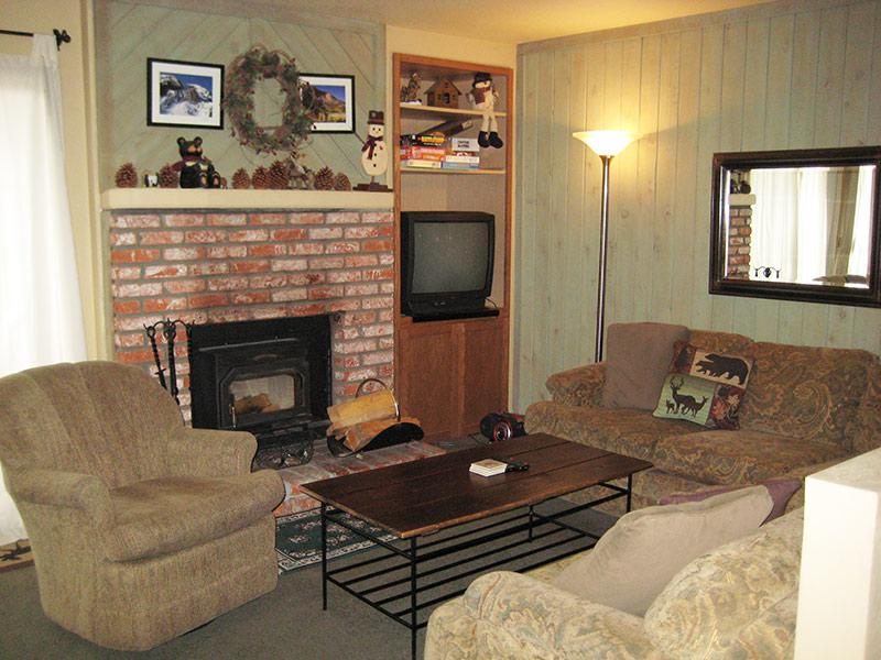 Living Room - Hidden Valley - HV118 - Mammoth Lakes - rentals