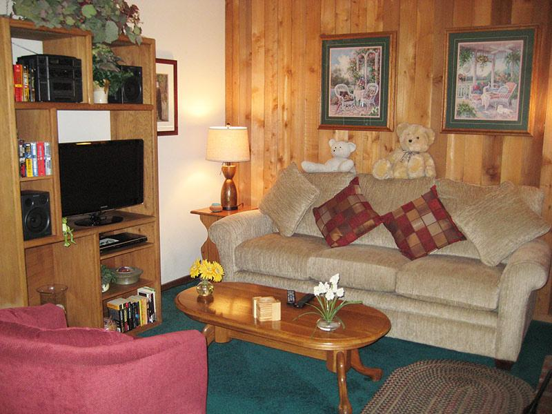 Living Room with Flat Screen TV - Hidden Valley - HV117 - Mammoth Lakes - rentals
