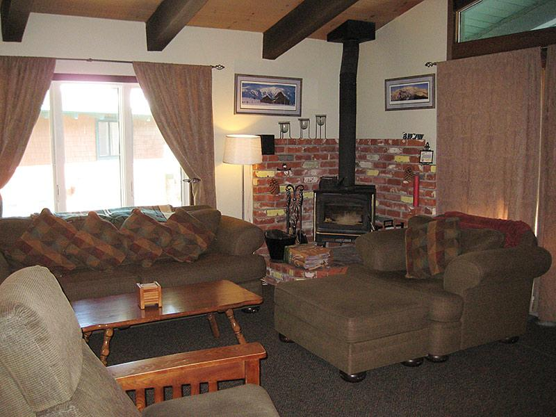 Living Room - Chateau Sans Nom - CSN19 - Mammoth Lakes - rentals