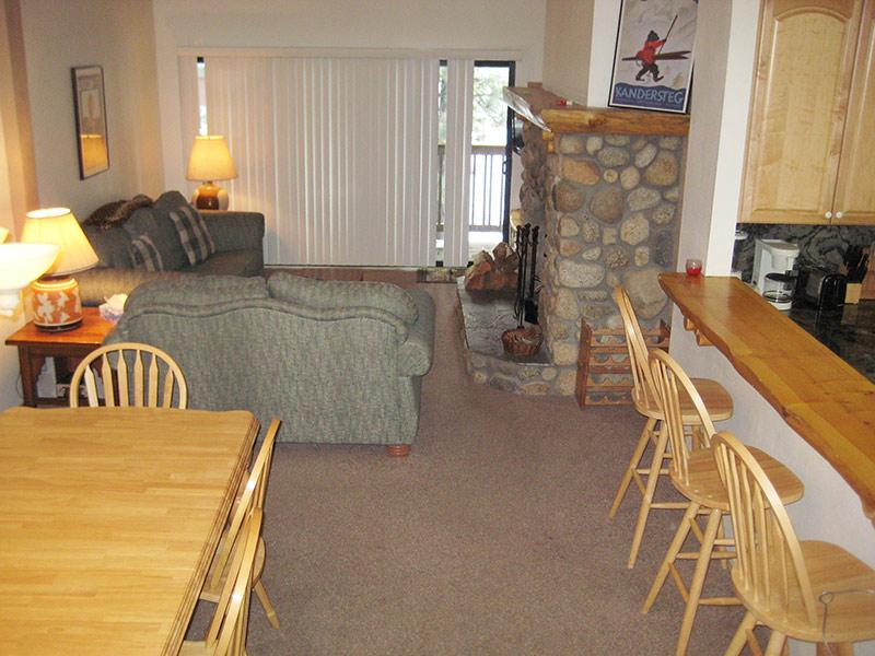 Living Room - The Summit - TS276 - Mammoth Lakes - rentals