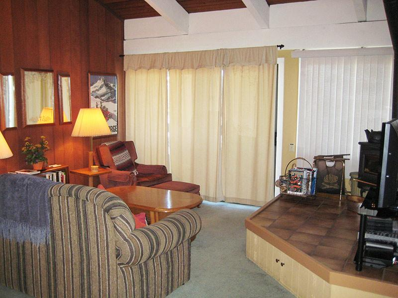 Living Room - Mammoth Point - MP106 - Mammoth Lakes - rentals