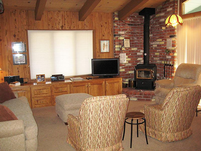 Living Room - Chateau Sans Nom - CSN09 - Mammoth Lakes - rentals
