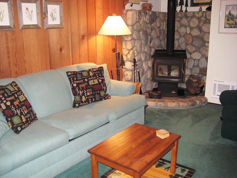 Living Room - Sherwin Villas - SV61G - Mammoth Lakes - rentals