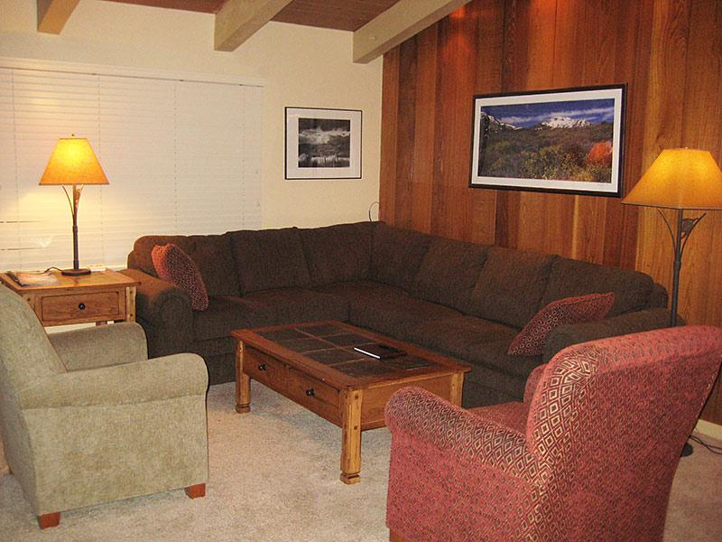 Living Room - Chateau Sans Nom - CSN14 - Mammoth Lakes - rentals