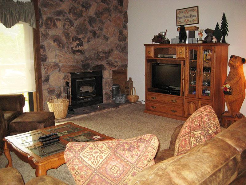 Living Room - Snowcreek - SC229 - Mammoth Lakes - rentals