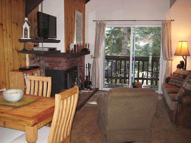 Living Room - Mammoth View Villas - MVV35 - Mammoth Lakes - rentals
