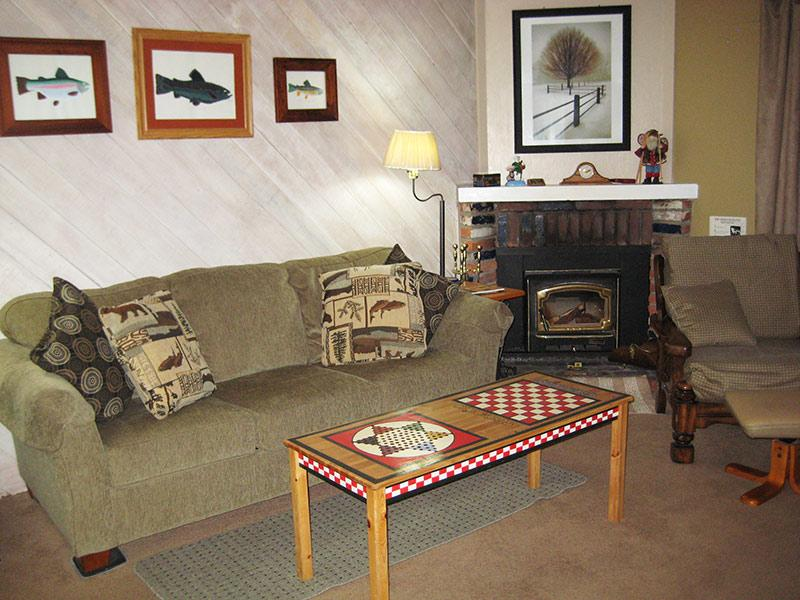 Living Room... - La Vista Blanc - LVB11 - Mammoth Lakes - rentals