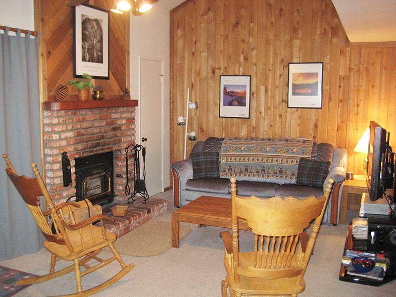 Living Room - Hidden Valley - HV122 - Mammoth Lakes - rentals