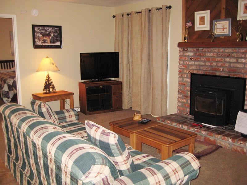 Living Room - Hidden Valley - HV105 - Mammoth Lakes - rentals