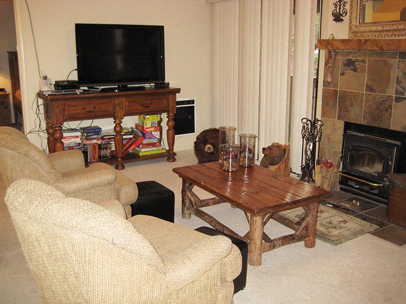 Living Room - Hidden Valley - HV036 - Mammoth Lakes - rentals