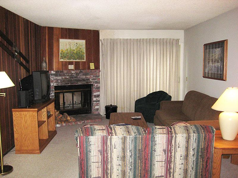 Living Room - Chamonix - CHX37 - Mammoth Lakes - rentals