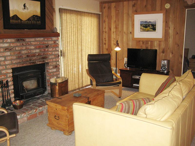 Living Room - Hidden Valley - HV107 - Mammoth Lakes - rentals