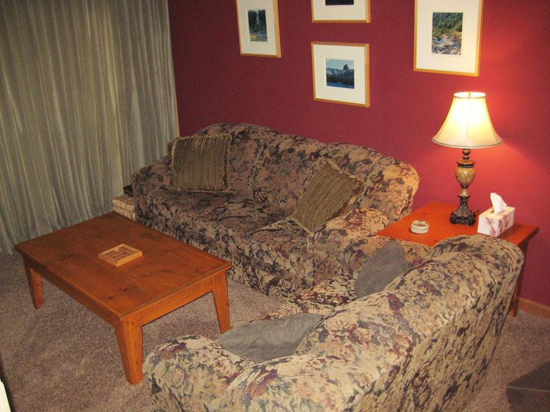Living Room - Sierra Park Villas - SPV73 - Mammoth Lakes - rentals