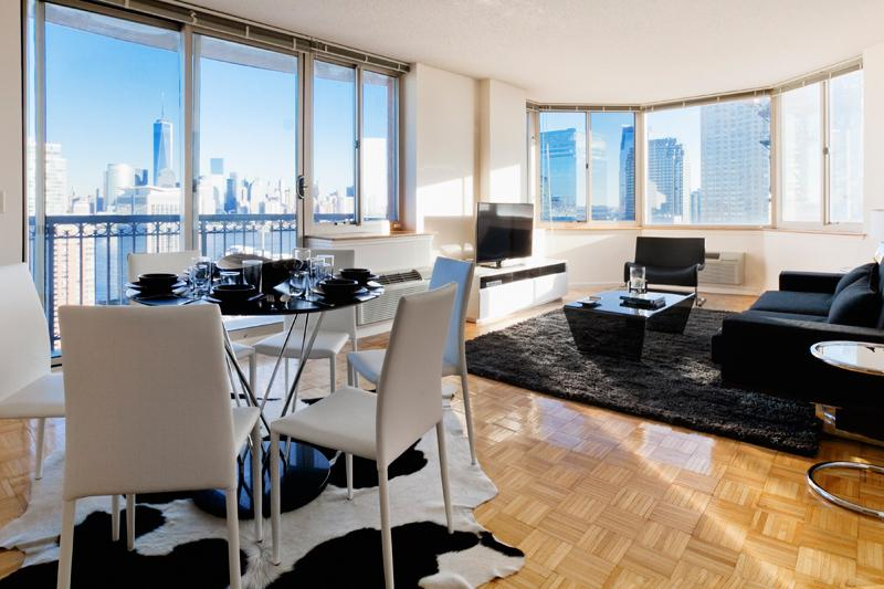 Sky City at Washington - 2-bedroom NYC View - Image 1 - Jersey City - rentals