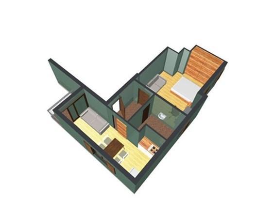 A3(3+1): floor plan - 5155 A3(3+1) - Makarska - Makarska - rentals
