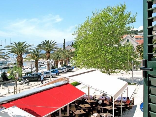 A2(4+1): terrace view - 2544  A2(4+1) - Baska Voda - Baska Voda - rentals