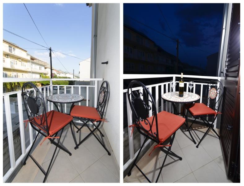 SA1(2): balcony - 3202 SA1(2) - Makarska - Makarska - rentals