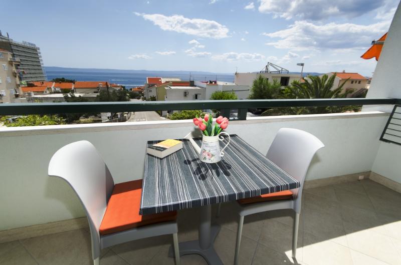 A2(2+3): terrace - 3202 A2(2+3) - Makarska - Makarska - rentals