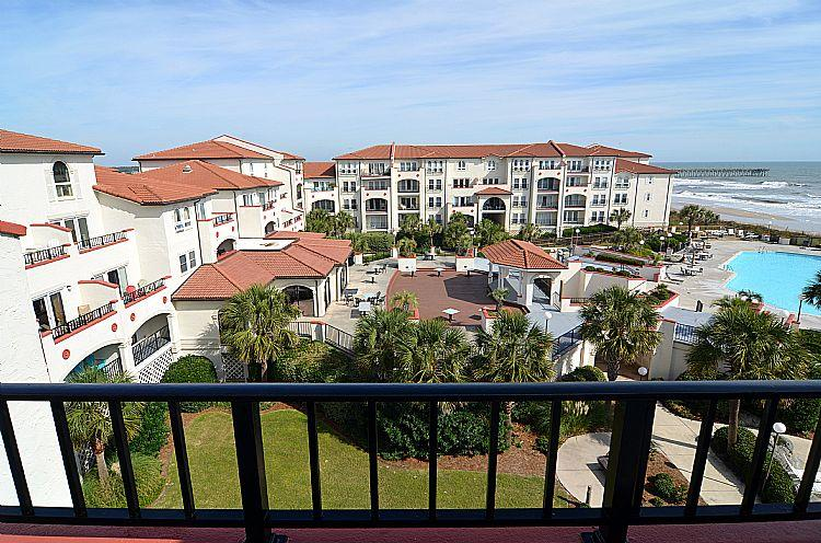 Balcony View - 408-A Villa Capriani - Spectacular Views, Community Pool & Beach Access - North Topsail Beach - rentals