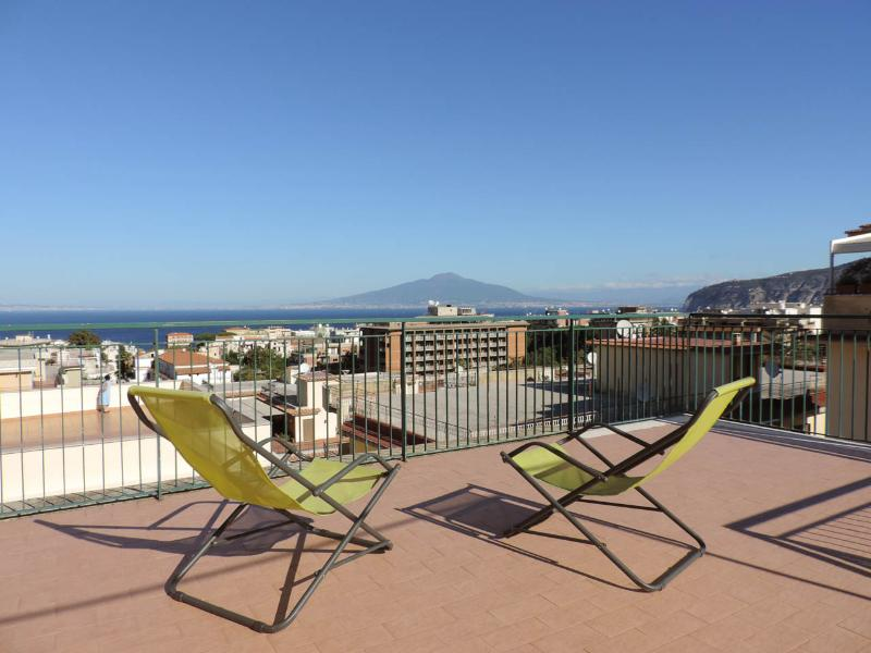 Sorrento Penthouse in the Center, amazing view - Image 1 - Sorrento - rentals