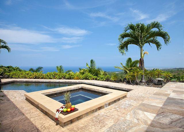 Private Pool and Ocean Views - Kilohana Vista - Coastline Ocean Views! AC & Pool! - Kailua-Kona - rentals