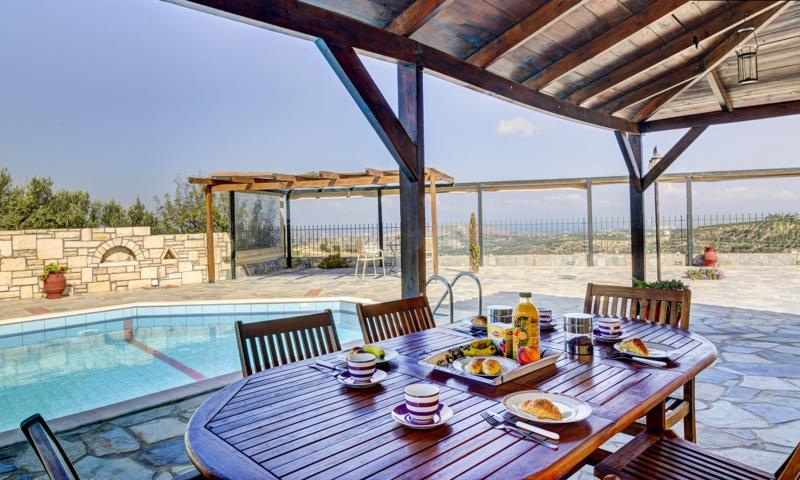 Breakfast area - Villa Galini-Professional rental services - Heraklion - rentals