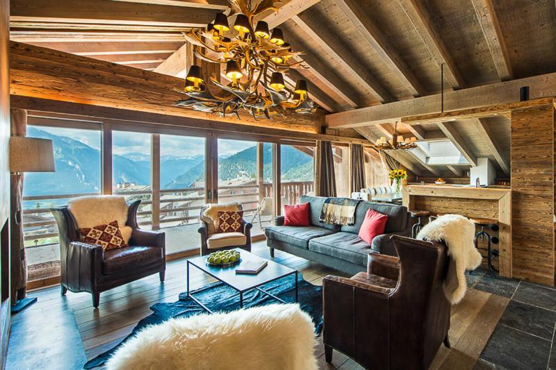 No. 5 - Penthouse, Sleeps 8 - Image 1 - Bagnes - rentals