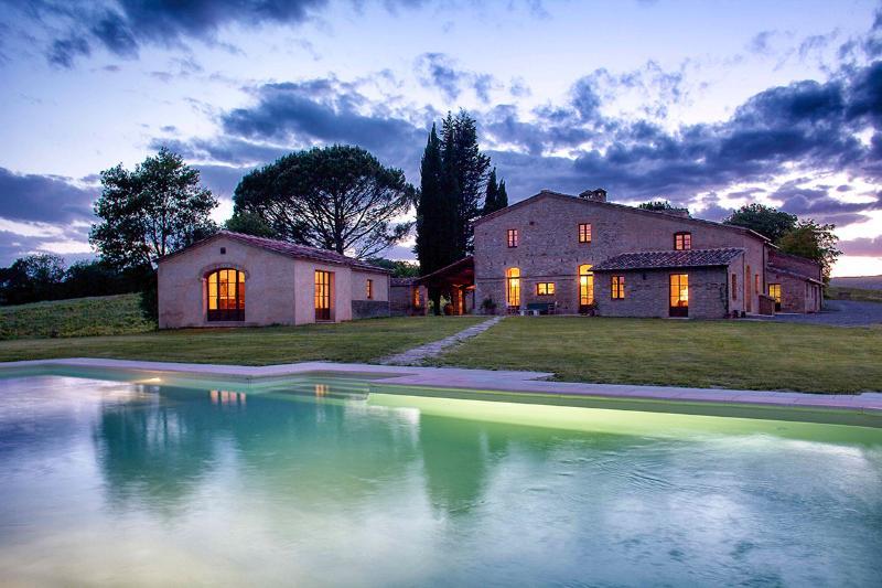 Villa Di Montesoli, Sleeps 14 - Image 1 - Buonconvento - rentals
