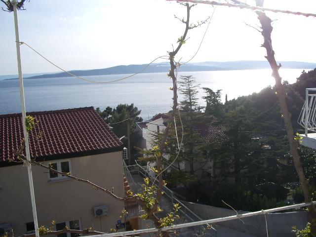 A2(5): terrace view - 7774  A2(5) - Baska Voda - Baska Voda - rentals