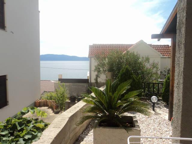 A2 zuti(2+2): terrace - 35475 A2 zuti(2+2) - Brist - Brist - rentals