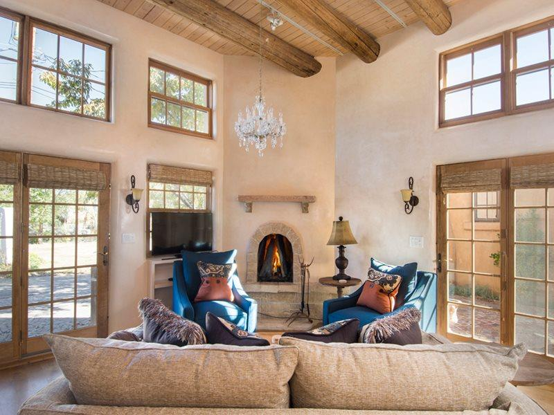 LIving Room - Sophisticated Santa Fe - Santa Fe - rentals