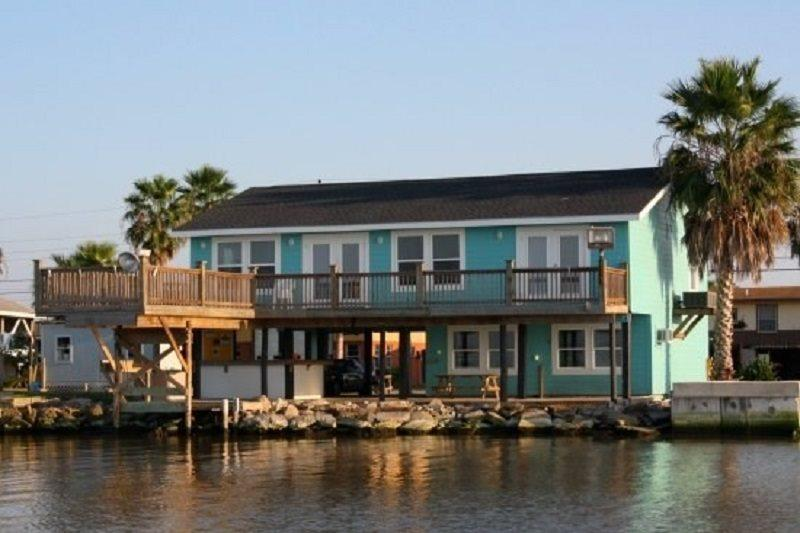 View of the back of Frisco Flats - Frisco Flats - Rockport - rentals