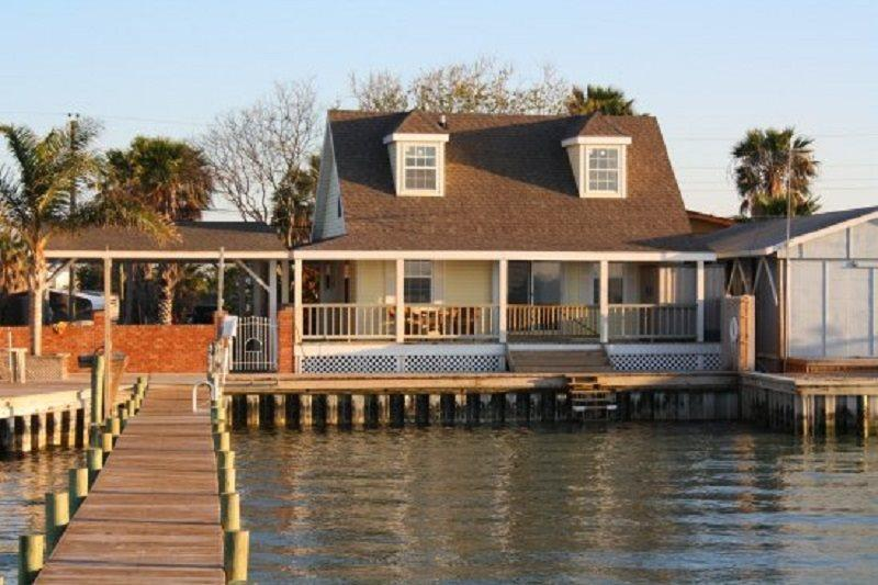 Bay House from the water - Bay House - Rockport - rentals