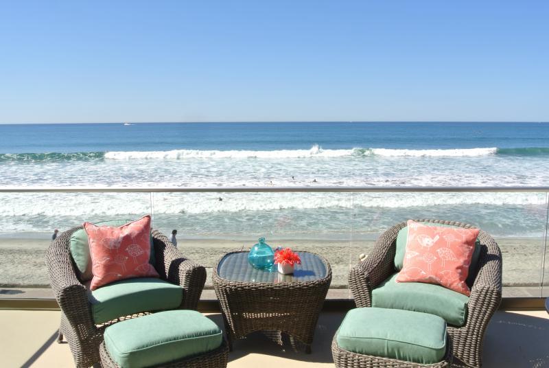 You are true beachfront! - Luxury Beachfront Vacation Rental Beachfront w/Air - Oceanside - rentals