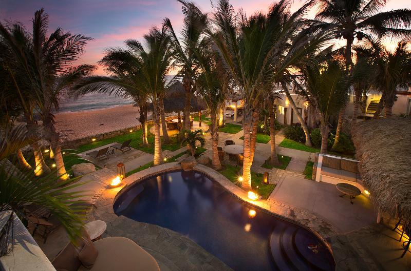 Beachfront Villa start @$1300/nt 8pers. inc. staff - Image 1 - San Jose Del Cabo - rentals